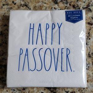 Rae Dunn Dinner Napkins Happy Passover Set of 40